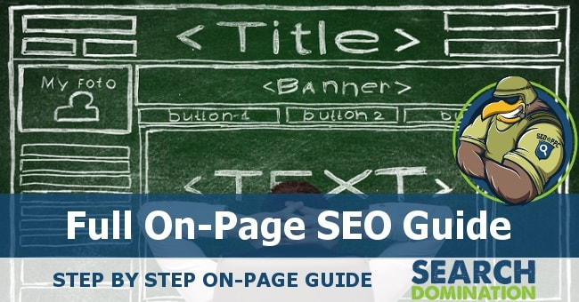 on page seo guide header image